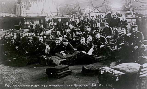 The miners strike, Tonypandy 1910