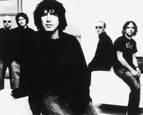 Photograph of the Super Furry Animals, ca. 2003.(© Ankst Management)