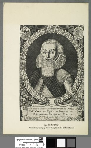 Sir John Wynn (1533-1627) by R. Vaughan