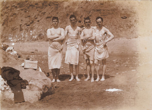 Bathers at Aberdaron, ca.1900.(©Photographers Estate