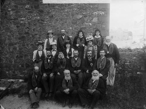 The St David's branch of the Good Templars temperance society, 1899 (JTH01405)
